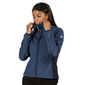 Regatta Arec II Chaqueta Softshell Mujer, dark denim/navy